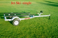 SNGLE JET SKI TRAILER BUNK TYPE